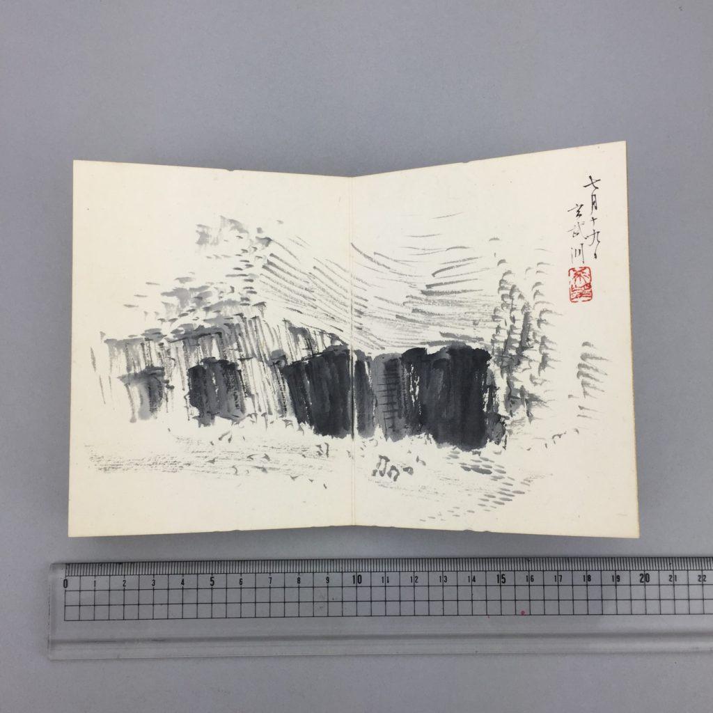 児玉 希望   客衣餘産 画帳  共箱4