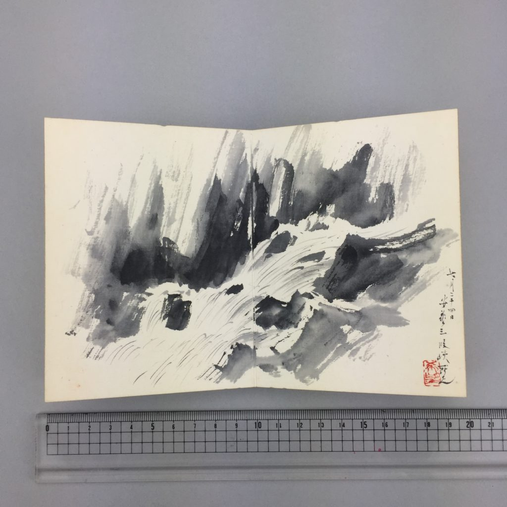 児玉 希望   客衣餘産 画帳  共箱6