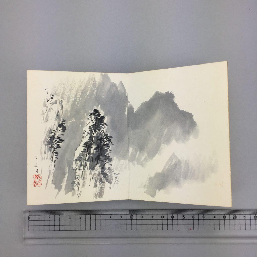 児玉 希望   客衣餘産 画帳  共箱7
