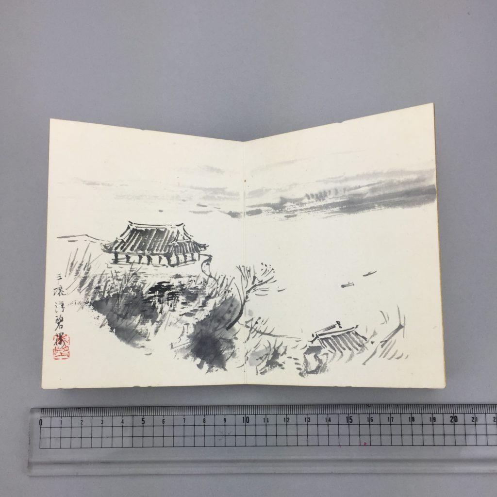 児玉 希望   客衣餘産 画帳  共箱12